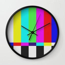 color tv Wall Clock