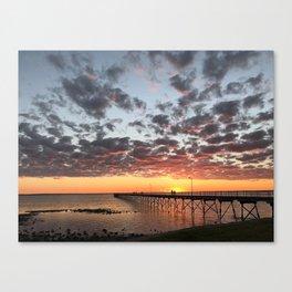 Western Australian Sunset Canvas Print