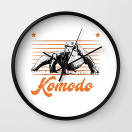 I Just really like Komodo Dragons Komodo Dragon Wall Clock