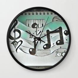 Cool rhythm Wall Clock