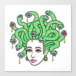 Medusa Anime Canvas Print