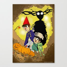 Going Over the Garden Wall Canvas Print