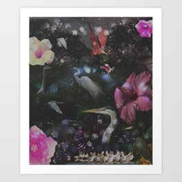 Mystical Night Art Print