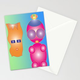 Icky and Bicky Stationery Cards