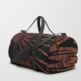Native Tapestry in Burnt Umber Duffle Bag