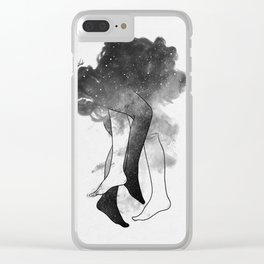 Somewhere in heaven. Clear iPhone Case