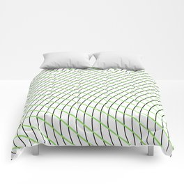 Wave Grid Comforters