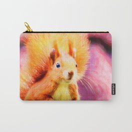 squirrel digital oil paint dopstd Carry-All Pouch