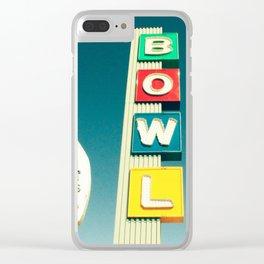 Linbrook Bowl - Anaheim, CA Clear iPhone Case