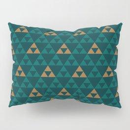 The Golden Power (Green) Pillow Sham