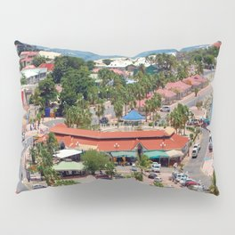 Colorful island and city scenes of Sint Maarten - St. Martin Pillow Sham