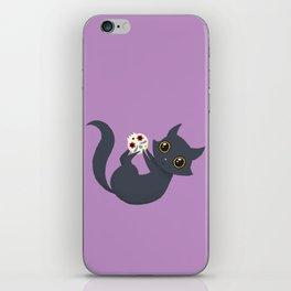 Kitty sugar skull iPhone Skin