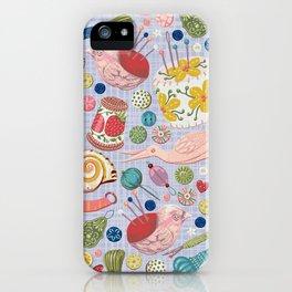 Sewing Pattern inga-z iPhone Case