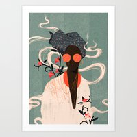 Art Prints featuring Kalemba I by Willian Santiago