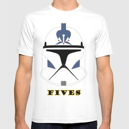 Helmet clone trooper Fives T-shirt