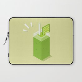 Green smoothie Laptop Sleeve