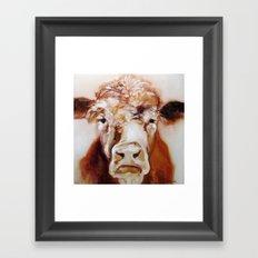 Mister Cow Framed Art Print