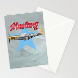 Mustang Heaven Sent Stationery Cards