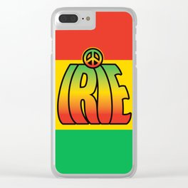 Irie Peace Clear iPhone Case