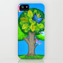 Butterflies refuge iPhone Case