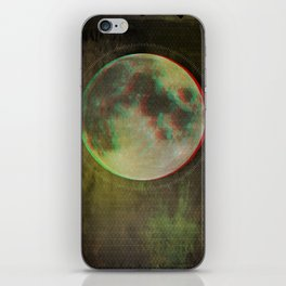 Stereo Moon iPhone Skin