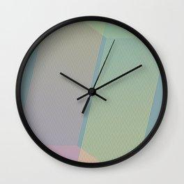 Stripes V Wall Clock