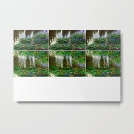 """Le Jardens over Akaka Falls"" (c) 2020 Dwight Collman Metal Print"