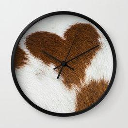 Horse Heart Wall Clock