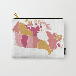 Canada map Carry-All Pouch