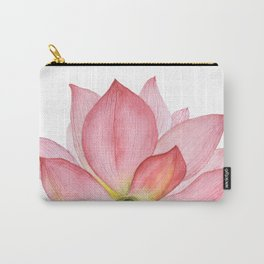 Pink lotus #2 Carry-All Pouch