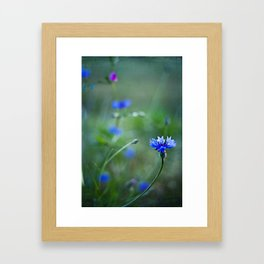 magic blue Framed Art Print