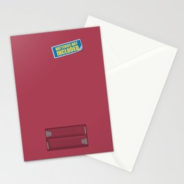 Batteries Not Included ~ Night Shadz Stationery Cards