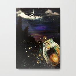 Firefly Sky Metal Print