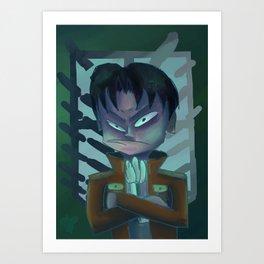 Grumpy Levi Art Print
