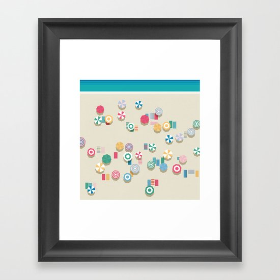 Summer High Framed Art Print