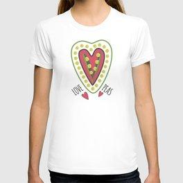 Love peas! T-shirt
