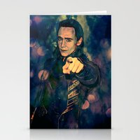 loki Stationery Cards featuring Loki by Sirenphotos