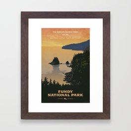 Fundy National Park Framed Art Print