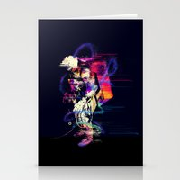 spaceman Stationery Cards featuring Spaceman  by Sebastián Andaur