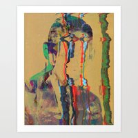 tchmo Art Prints featuring Untitled 20140627w by tchmo