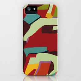 Never-ending Abstract Art iPhone Case