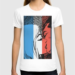French Love Pop Art T-shirt