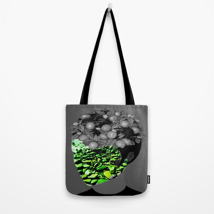 The face mask Tote Bag