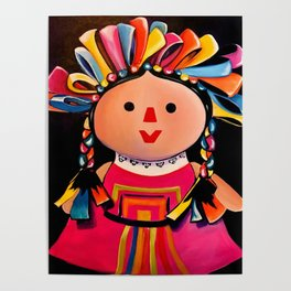 MEXICAN MARIA DOLL*** Poster