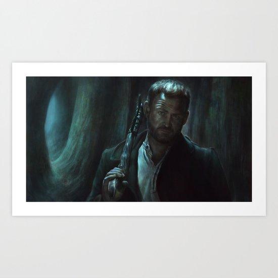 Benny  Lafitte from Supernatural Art Print
