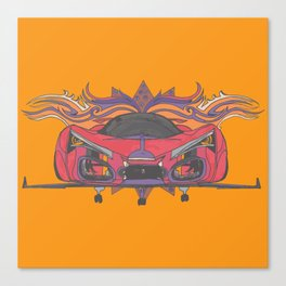 Hot Wheels Canvas Print