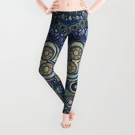 Inner Light / Psychedelic Owl Leggings