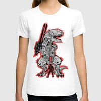 metal gear T-shirts featuring Metal Gear T.REX by MeleeNinja