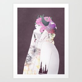 Forgetful Witch Art Print