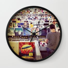 Record Store Wall Clock
